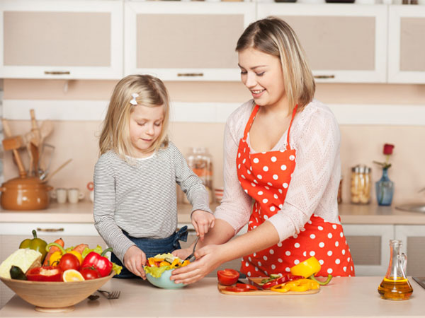 Quanta frutta e verdura devono mangiare i bambini