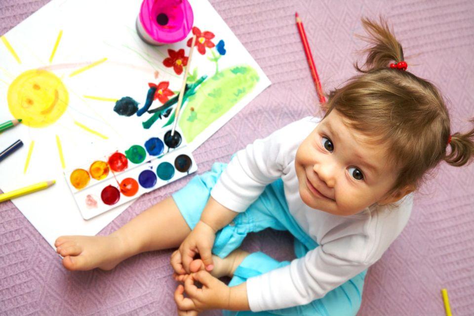 come insegnare i colori ai bambini