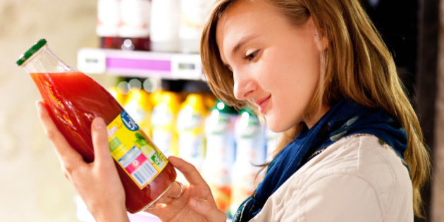 come leggere le etichette degli alimenti