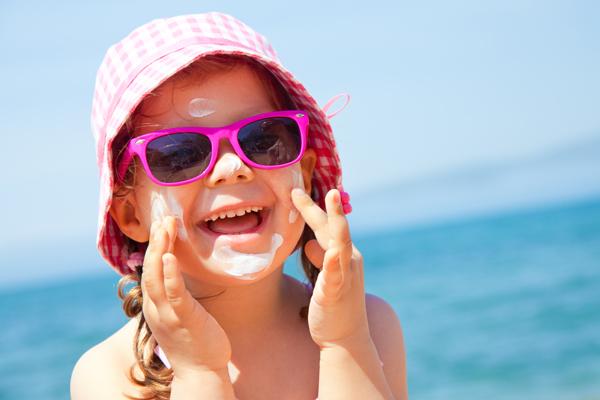 Proteggere i bimbi dal sole