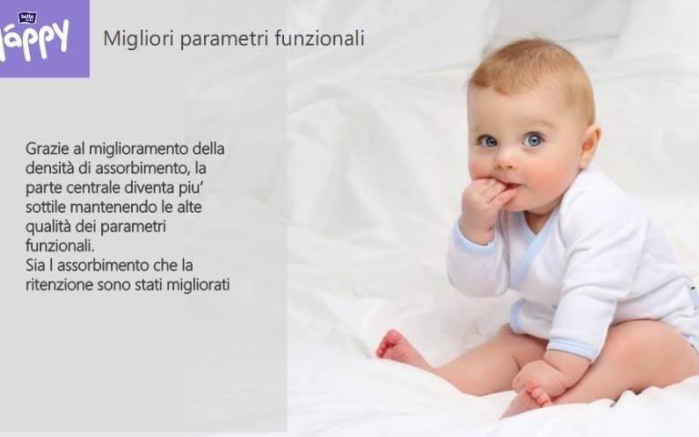 pannolini per il bambino