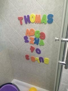 Gioco da bagno divertente