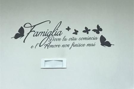 decorare casa con le scritte