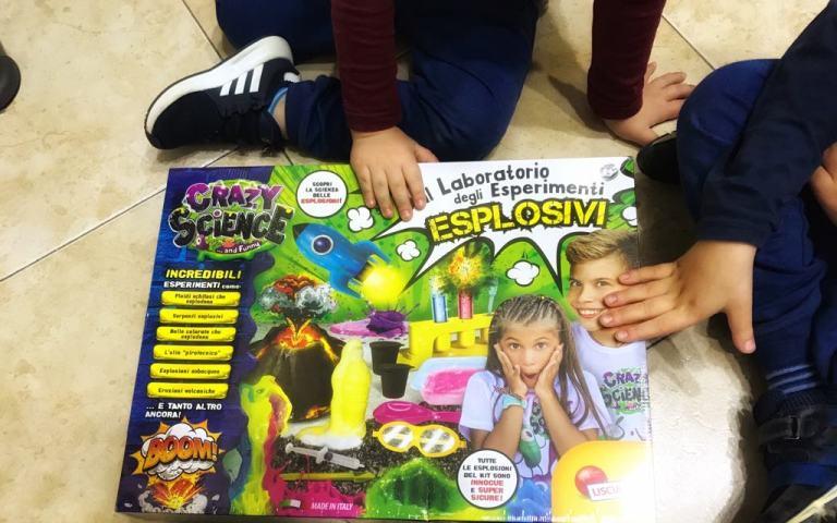 scienza per bambini esperimenti