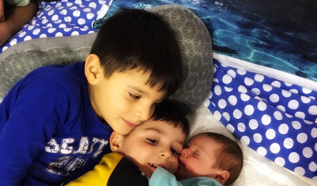Avere tre figli è meno stressante
