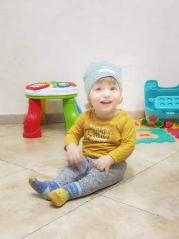 cappellino bambino in primavera