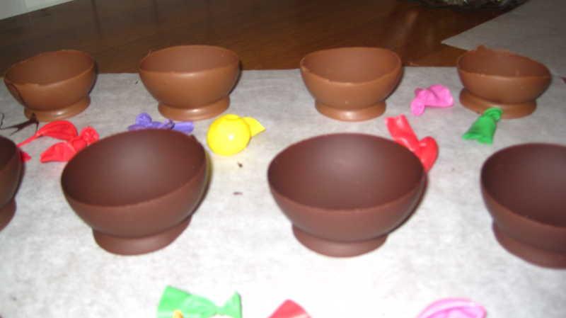 Risultati immagini per immagine ciotoline di cioccolato