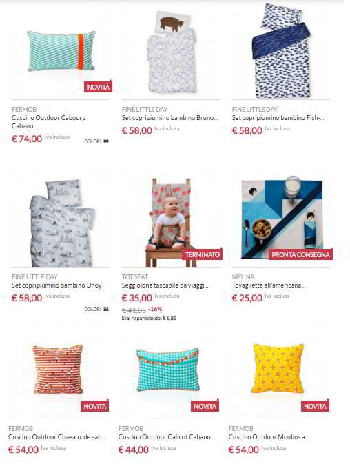 Arredamento di design per bambini negozi online che lo vendono