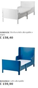 Lettino Ikea Allungabile E Materasso Per Bambini Ikea