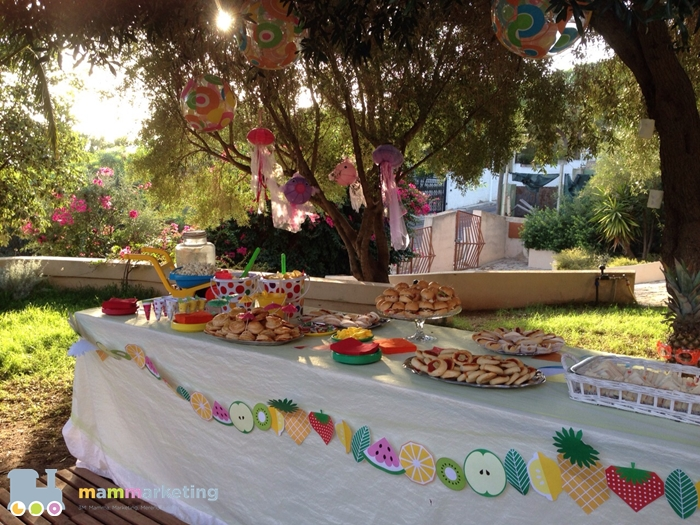 After beach party idee per una festa di compleanno