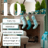 10 tips to handle the Holiday Season when grieving