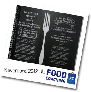 Novembre 2012 - Milano - MammeCheFatica al Food Coaching!