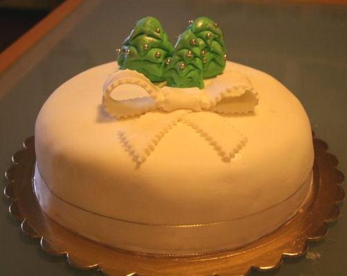 Torta natalizia di Lillafiore