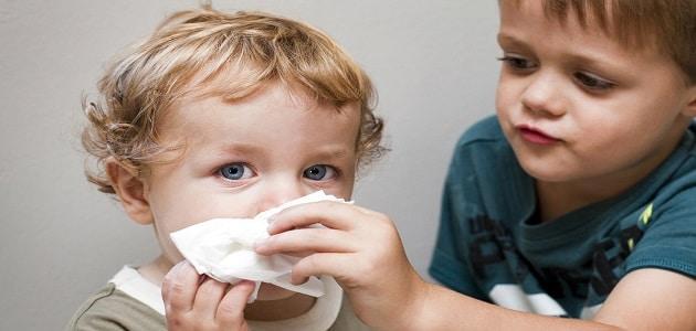 علاج الزكام عند الأطفال الرضع بالأعشاب ماميتو