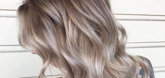 طريقة جديدة لصبغ الشعر لون أشقر رمادي الجديد ماميتو