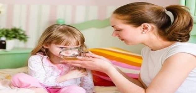 علاج الكحة عند الأطفال وقت النوم بالأعشاب ماميتو