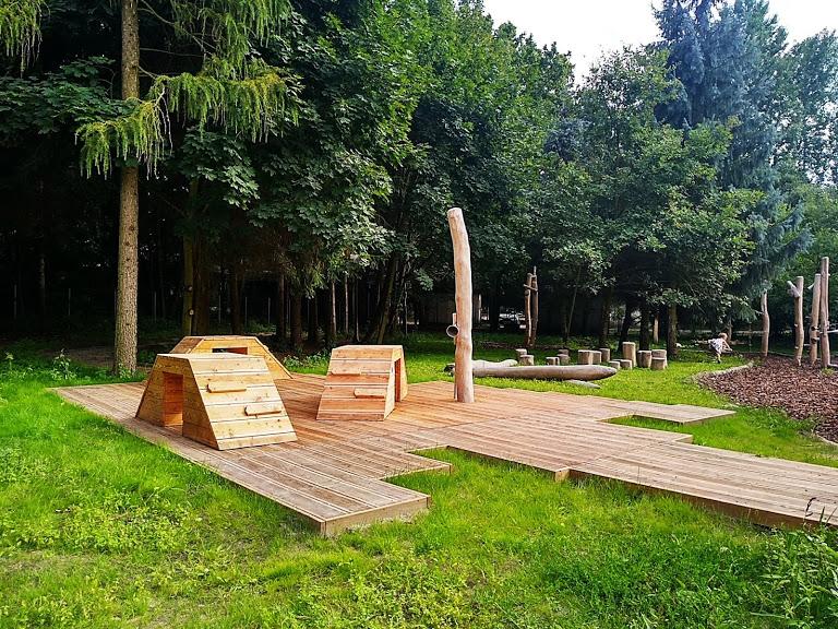 leśny plac zabaw Warszawa