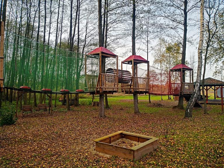bezpłatny park linowy