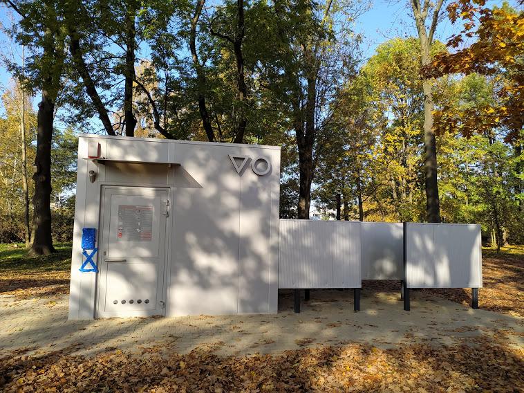 park henrykowski toaleta