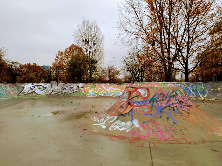 skatepark park zachodni