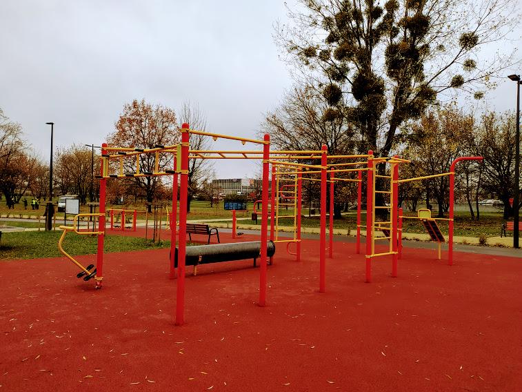 park zachodni siłownia