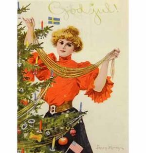 Julkort från förr