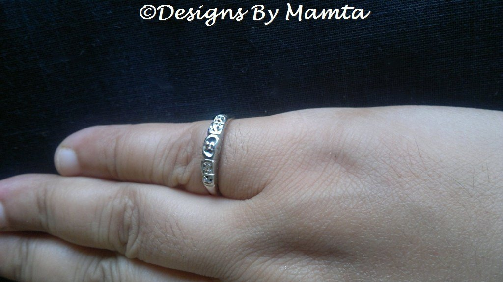 1920s Gold Diamond Ring