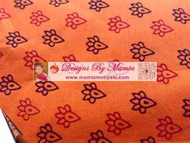 Bagh Print Fabric