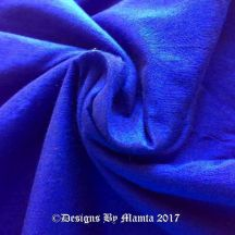 Bright Royal Blue Art Silk Fabric