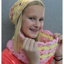 Catherine Crochet Cowl Pattern