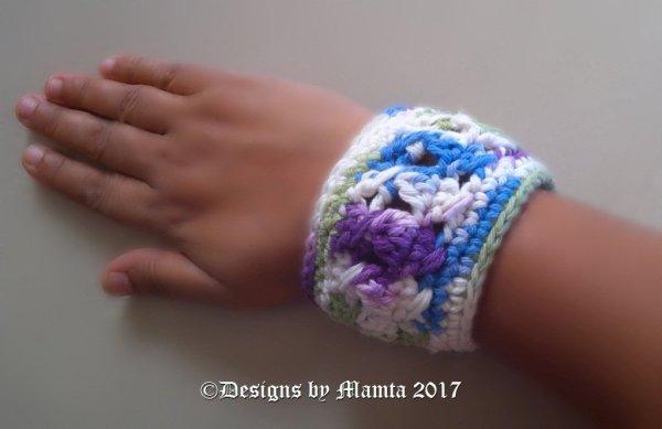 Crochet Cuff Bracelet Pattern