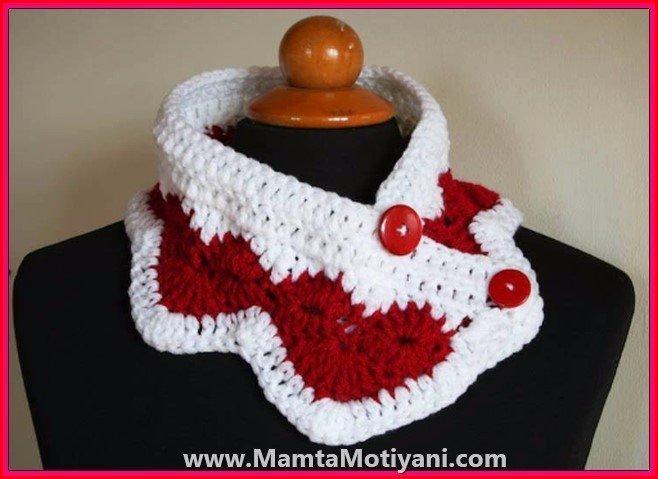 designer valentine scarf