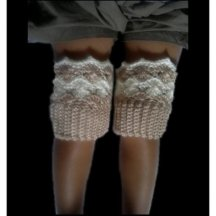 Diane Boot Cuff Crochet Pattern For Kids