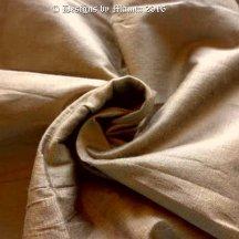 Ecru Brown Silk Fabric