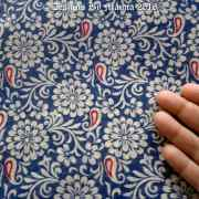 Indian Floral Cotton Fabric