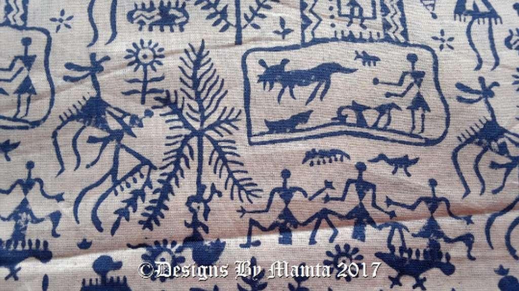 Indian Print Fabric