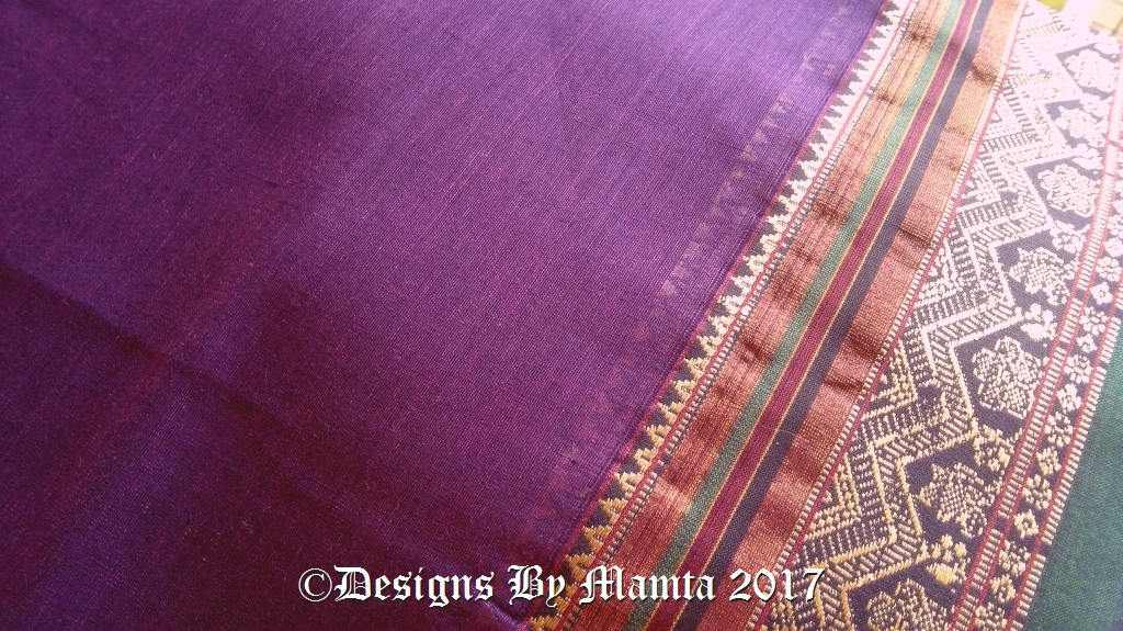 Indian Sari Fabric By The Yard