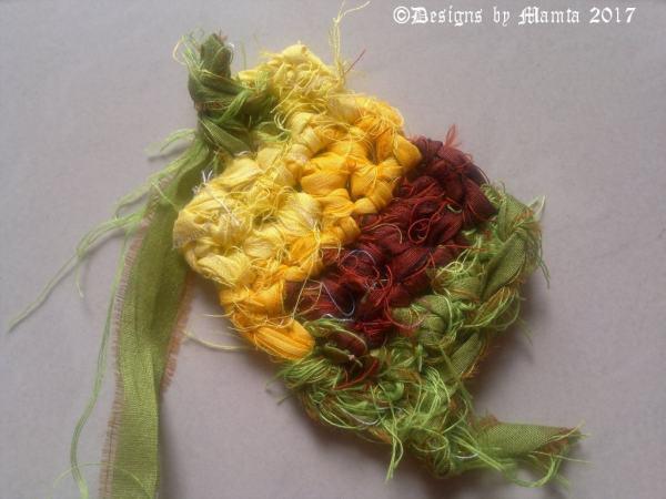 Knitted Ribbon Yarn