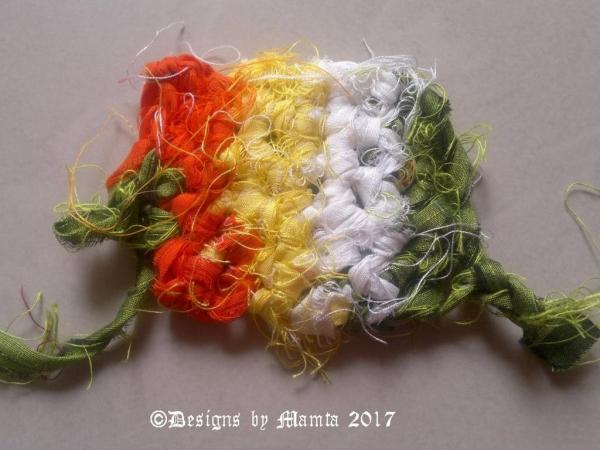 Knitting Sari Ribbon