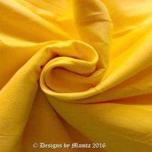 Lemon Yellow Indian Silk Fabric