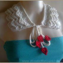 Romantic Ruffles Crochet Collar Pattern