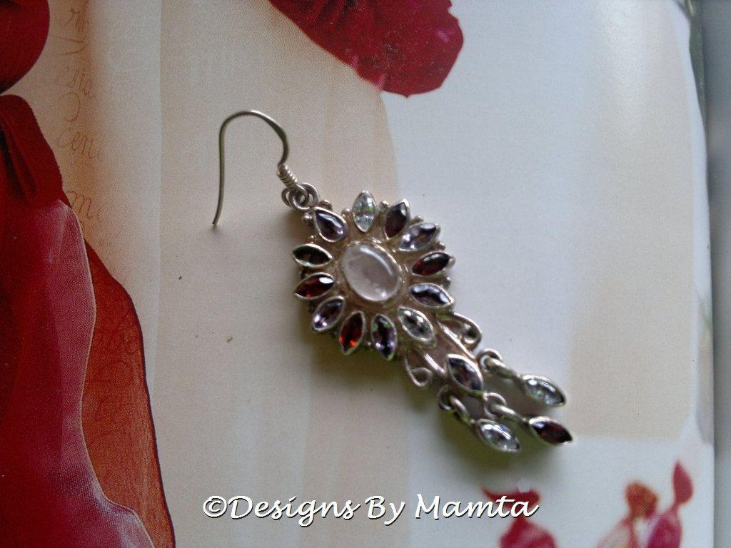 Vintage Gemstone Earrings