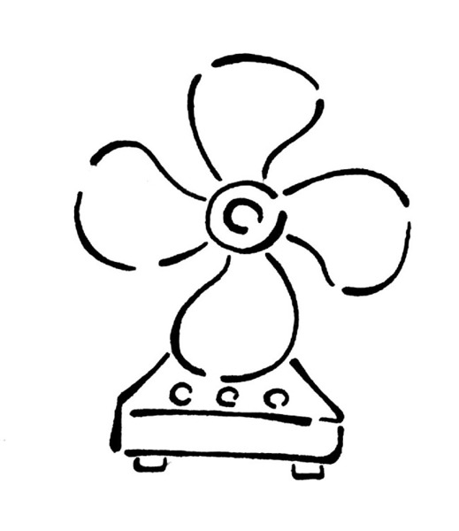 1000 Images About Fan Coloring Pages On