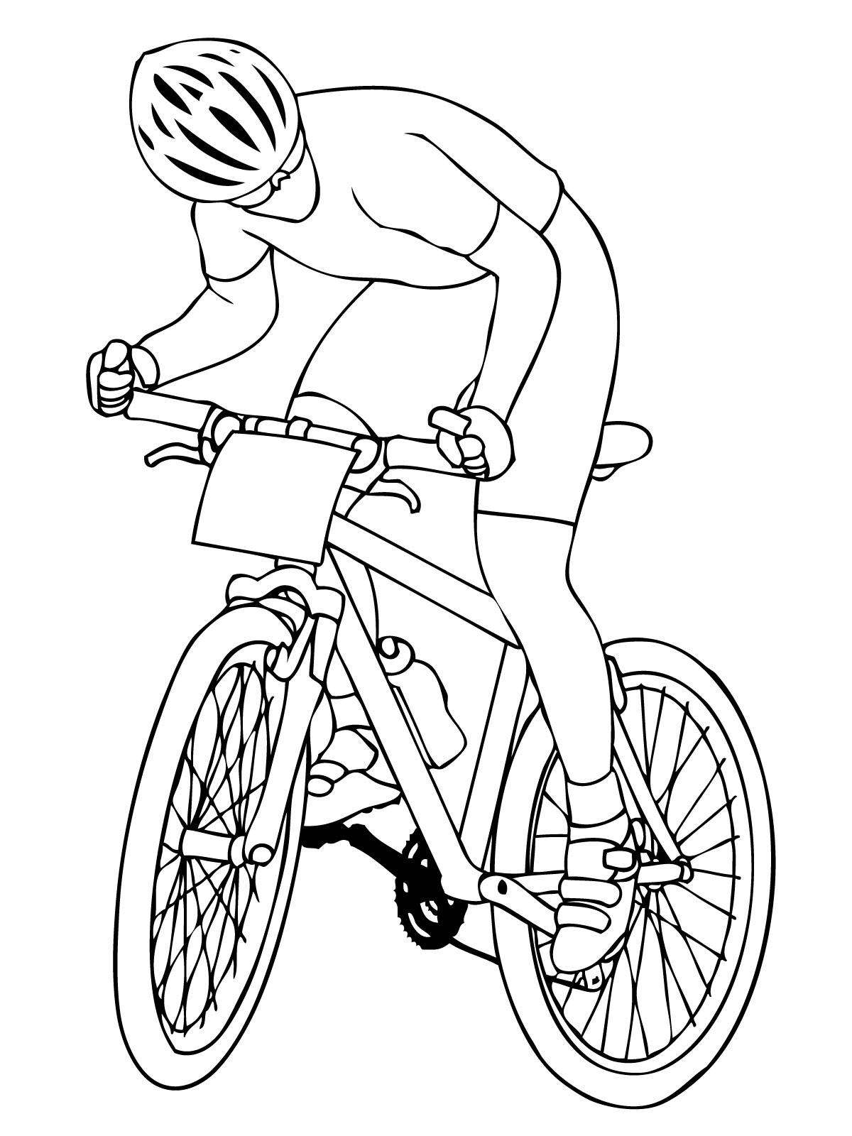Zobacz Postać Która To Jeździ Na Rowerze Tym Obrazku Te I