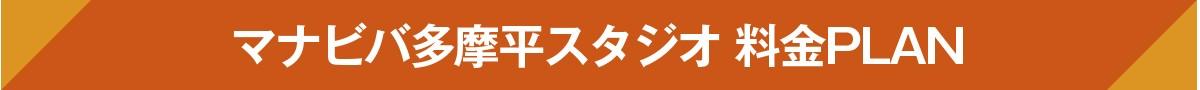 マナビバ多摩平スタジオ 料金PLAN
