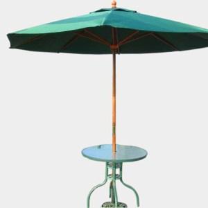 咖啡庭院傘