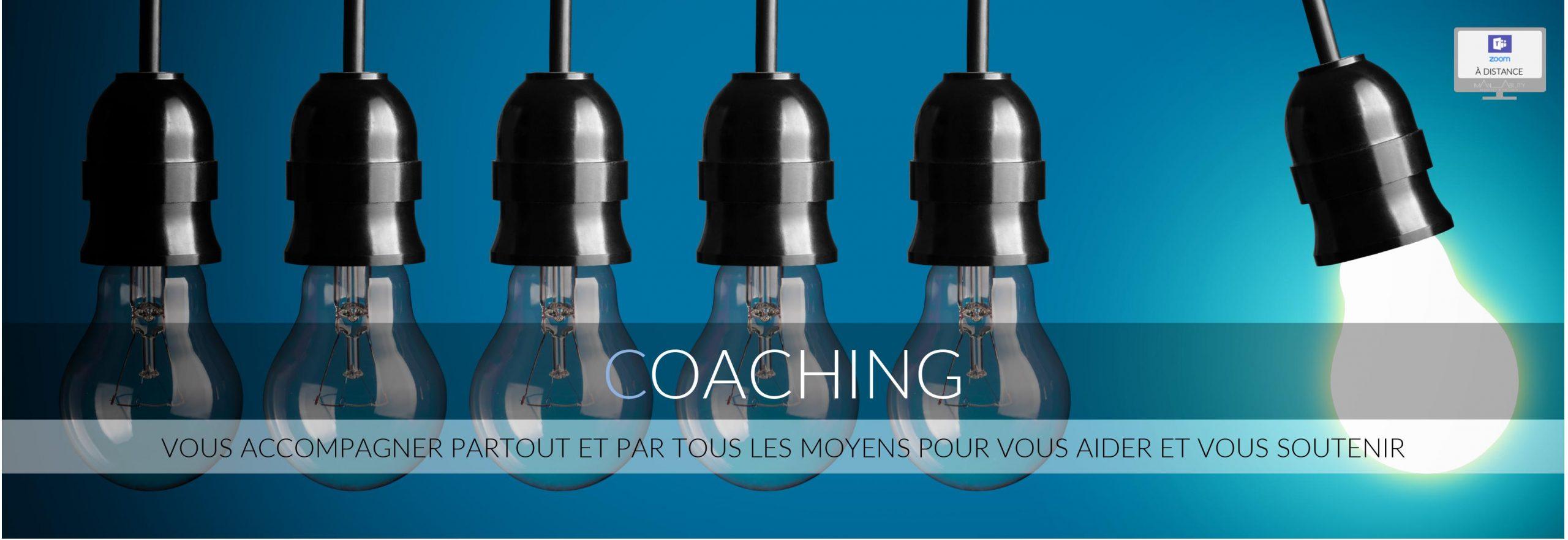 coaching en présentiel et à distance