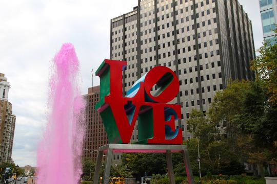It's all about gay travel Love in Philly
