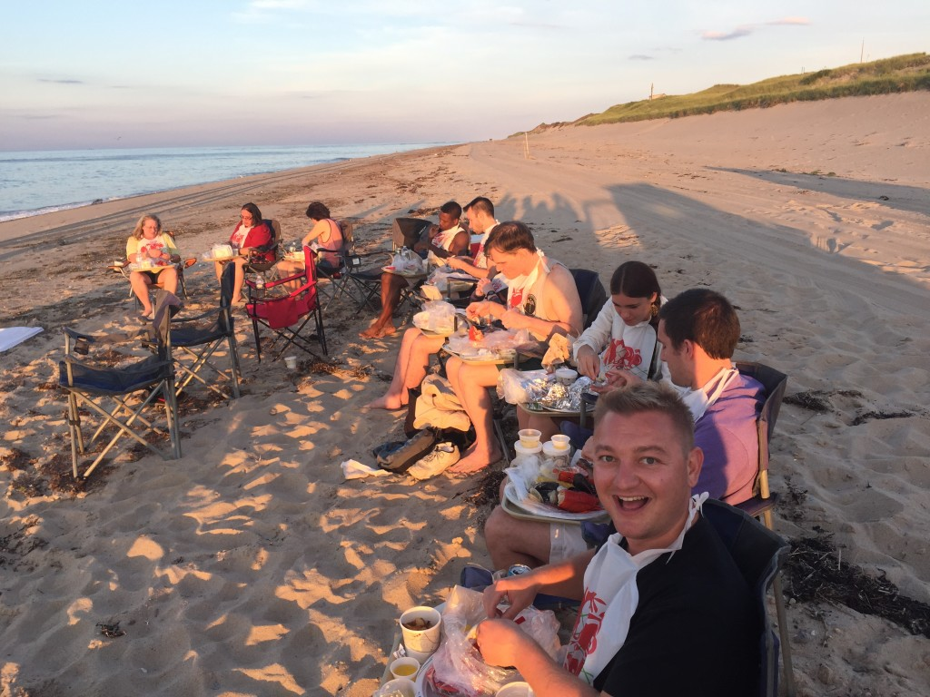 Clambake on the beach in Provincetown, ManAboutWorld gay travel magazine