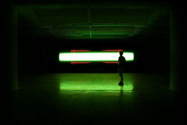 Installation view: Kurt Hentschläger, <em>SUB</em>, 2019. Courtesy of the artist